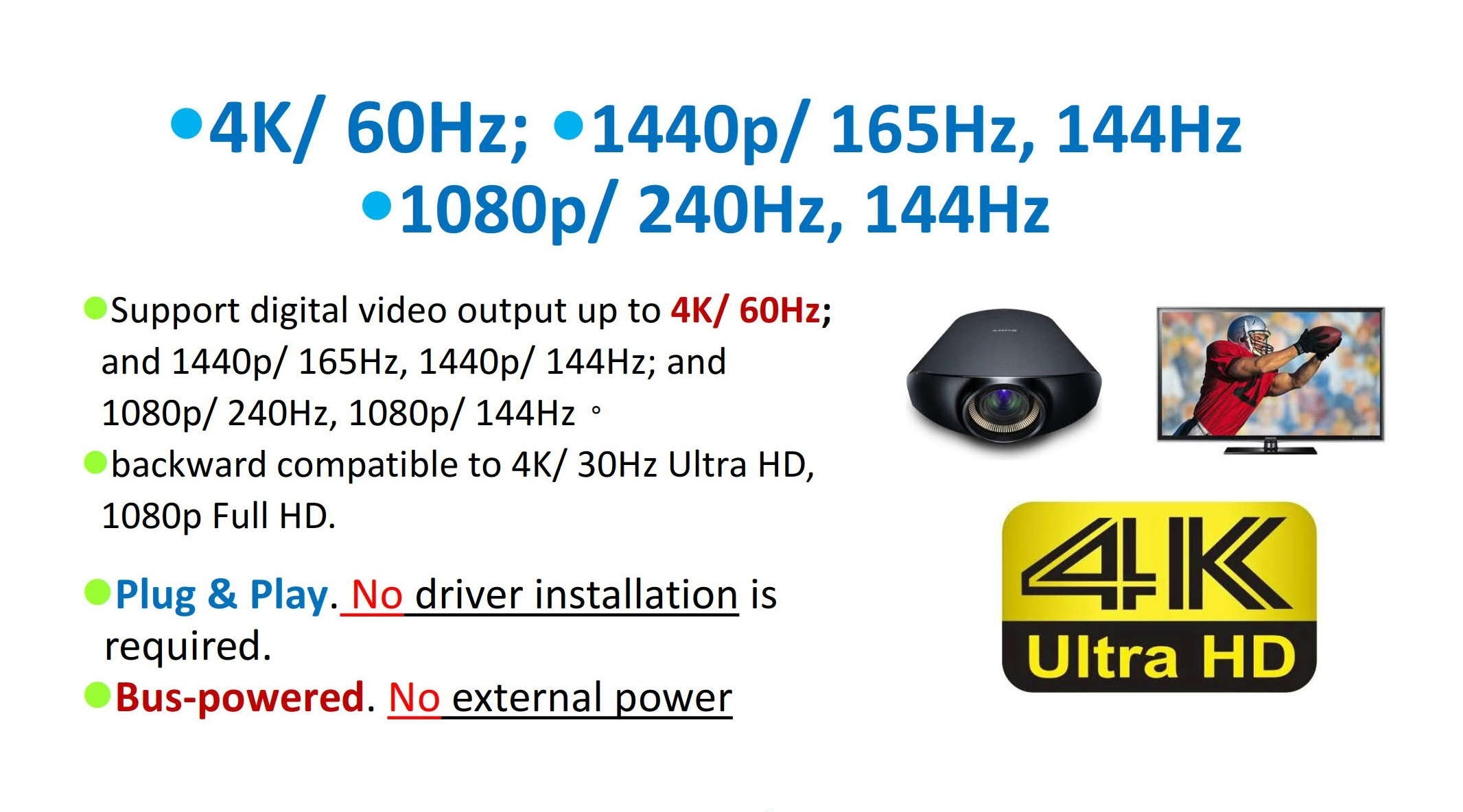 4K Monitör aldınız, peki Displayport Kablonuz en iyi displayport kablo mu?